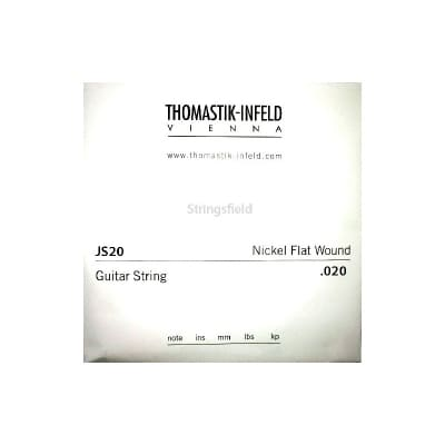 Thomastik Infeld JS20 Nickel Flatwound 020 Single String 020