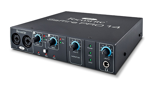 FOCUSRITE SAFFIRE FIREWIRE AUDIO INTERFACE WINDOWS 7 DRIVER