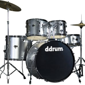 "ddrum D2BS 5pc Drum Set with Cymbals and Hardware (10x8/12x9/16x14/22x18/5.5x14"")"