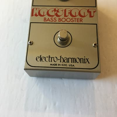 Electro Harmonix Hog's Foot Bass Booster Rare Vintage Guitar Effect Pedal EHX