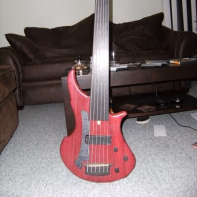 Bass 6 cordes ML Basses Bass 6 cordes ML Mentor 2001 Naturel (bois de rose) for sale