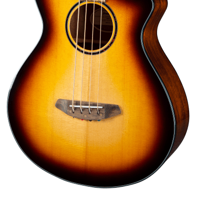 Breedlove ECO Discovery S Concert CE Acoustic-Electric Bass Guitar - Edgeburst - PRE-ORDER for sale