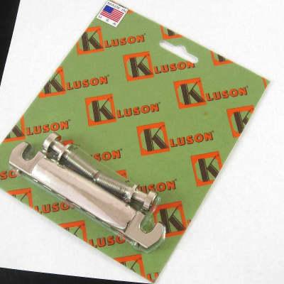 Kluson Lightweight Aluminum Wraparound Bridge Tailpiece KWRAPAL-N for sale