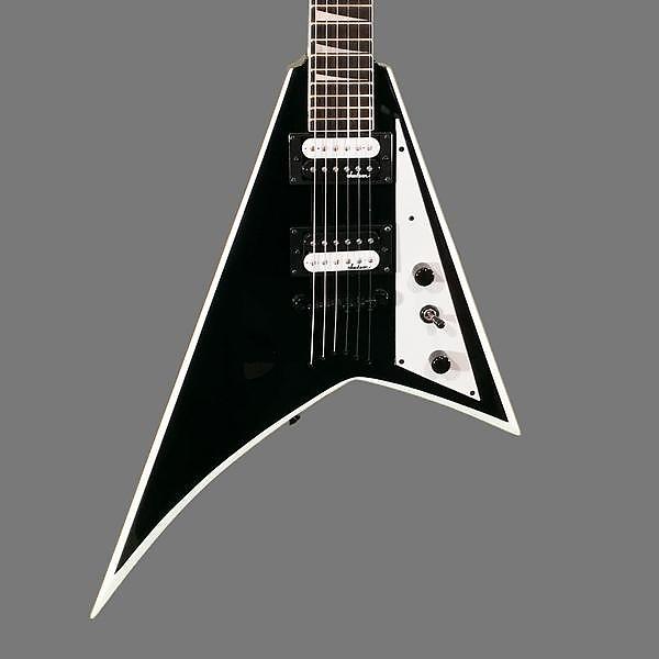 ... Neck/Bridge Pickups Ceramic Magnet. Source · Jackson 2016 JS32T Rhoads Electric Guitar Black with White Bevel USED