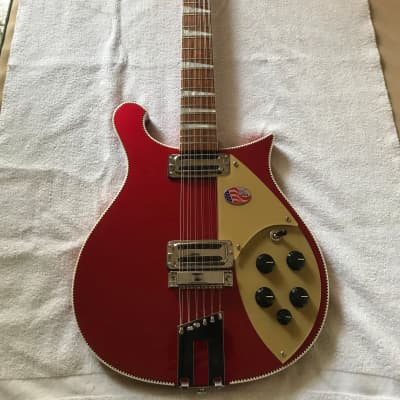 Rickenbacker 660 Jetglo 2013 Red for sale