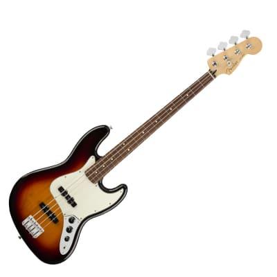 Fender Player Jazz Bass - 3-Color Sunburst w/ Pau Ferro Fingerboard - Used