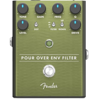 Fender Pour Over Bass Envelope Filter effects pedal for sale
