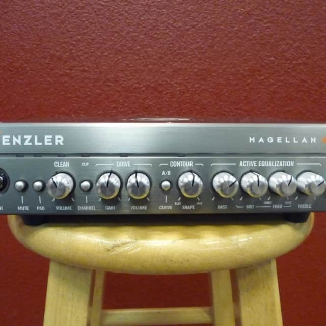 Genzler Amplification MG-800, Bass Amp Head, Free Shipping to Lower USA image