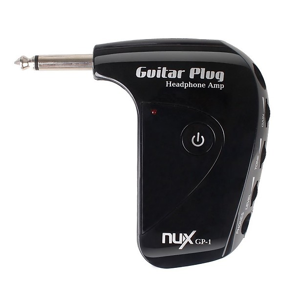 nux guitar plug headphone amp with classic british distortion reverb. Black Bedroom Furniture Sets. Home Design Ideas