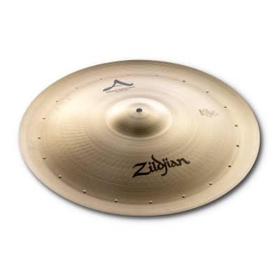 Zildjian 22 inch A Swish Knocker Cymbal w/ 20 Rivets - A0315 - 642388103784
