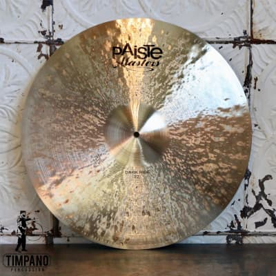 Paiste Masters Dark Ride Cymbal 22in