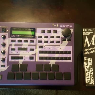 E-MU Systems MP-7 2001 Purple and Black