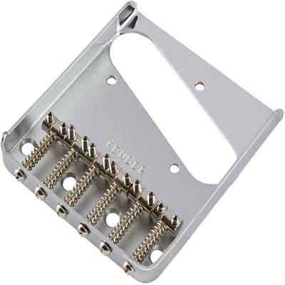Fender Vintage-Style 6-Saddle Telecaster Bridge Assembly