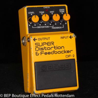 Boss DF-2 SUPER Distortion & Feedbacker 1984 s/n 492100 Japan