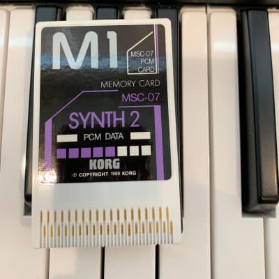 Korg M1 MPC-07 card 1990's | masteef | Reverb