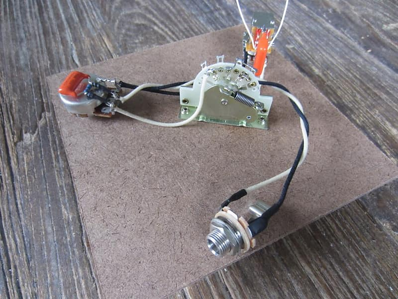 Prs Paul Reed Smith Prs Upgraded Wiring Harness