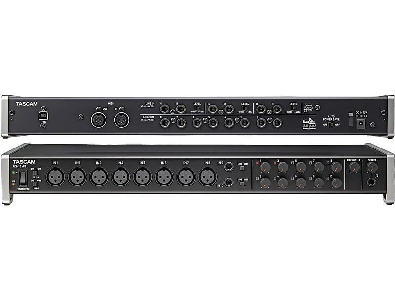 Tascam US16x08 - Interfaccia USB MIDI con Preamplificatore