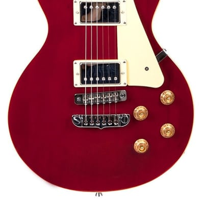 Aria PE-STD See-through Red Electric Guitar New. for sale
