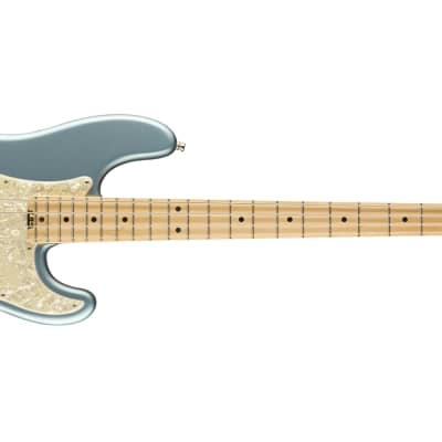 Fender American Elite Precision Bass - Maple, Satin Ice Blue for sale