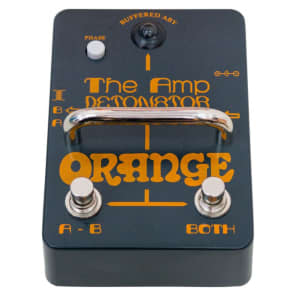 Orange Amp Detonator Buffered Active ABY Switcher