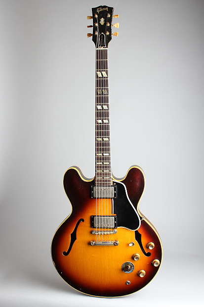 gibson es 345td semi hollow body electric guitar 1963 reverb. Black Bedroom Furniture Sets. Home Design Ideas