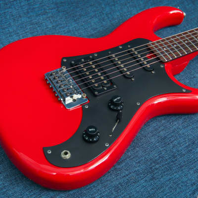 Aria pro II RS Wildcat 1986 Candy Apple Red for sale