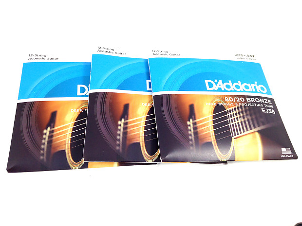 D/'Addario EJ36 Guitar Strings
