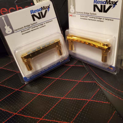 Graph Tech ResoMax NVS 6mm Bridge PLUS Tailpiece for sale