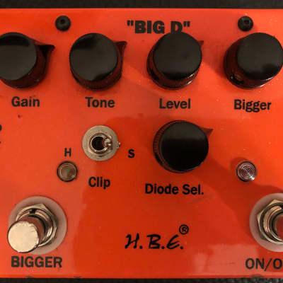 HomeBrew Electronics H.B.E. Big D Overdrive Orange