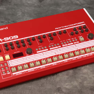 Roland Vintage Tr-909 Red Custom -Free Shipping*