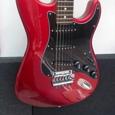 Bill Lawrence Stratocaster 1980s Fender Beater Heavy Relic MIJ 1980s Madcat for sale