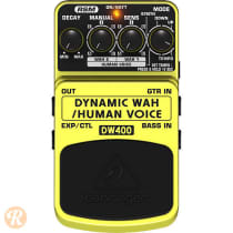 Behringer DW400 Dynamic Wah/Human Voice 2010s Yellow image