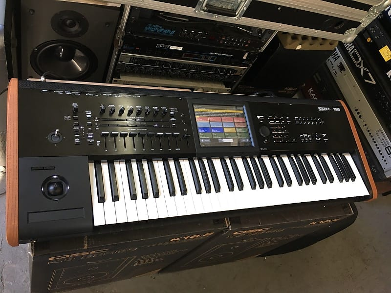korg kronos 2 6 61 key keyboard workstation in box reverb. Black Bedroom Furniture Sets. Home Design Ideas