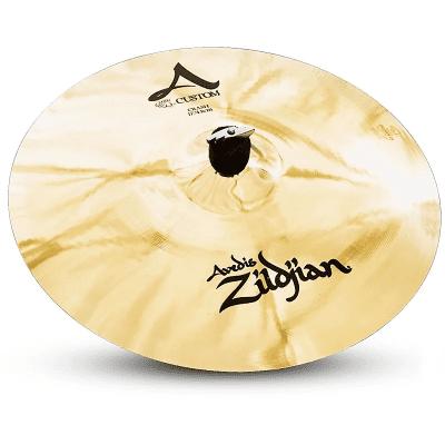"""Zildjian 17"""" A Custom Crash Cymbal"""