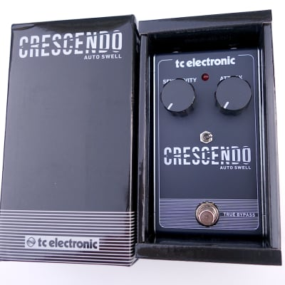 New TC Electronic Crescendo - Custom Slow Ramp Mod - Boss SG-1 Slow Gear Style Auto Swell for sale