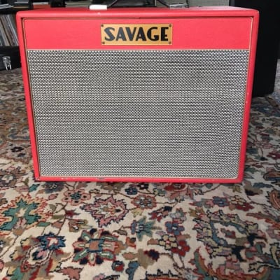 Savage Audio Macht 12 2005 red for sale