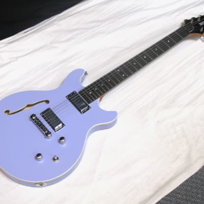Daisy Rock DR6302-U Stardust Retro-H electric GUITAR - Ice Blue Sparkle for sale