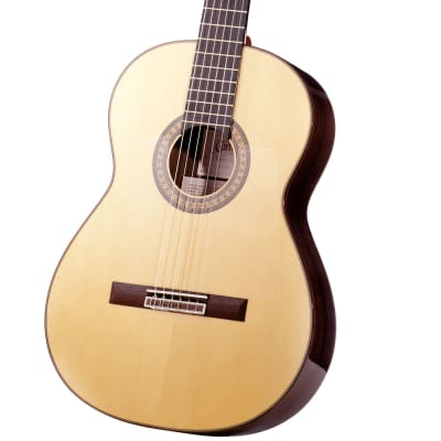 Spanish Flamenco Guitar CAMPS PRIMERA NEGRA - all solid - spruce top for sale