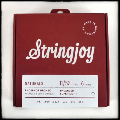 Stringjoy Acoustic Naturals 11-52