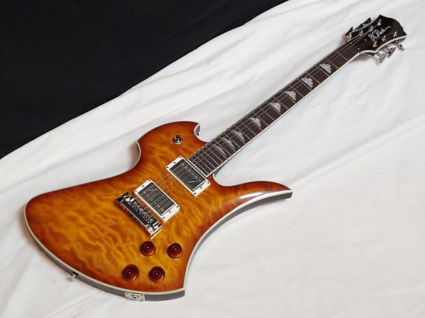 bc rich mockingbird flux electric guitar amber burst reverb. Black Bedroom Furniture Sets. Home Design Ideas