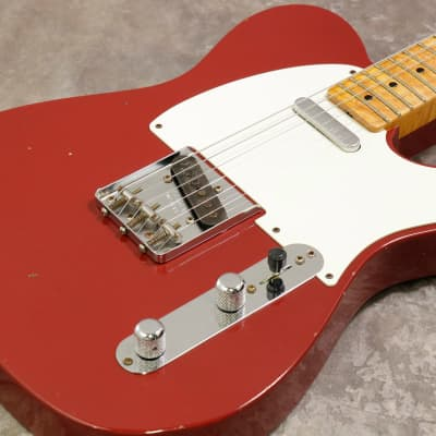 Fender USA Custom Shop 1955 Telecaster Journeyman Relic Cimarron Red - Shipping Included* for sale