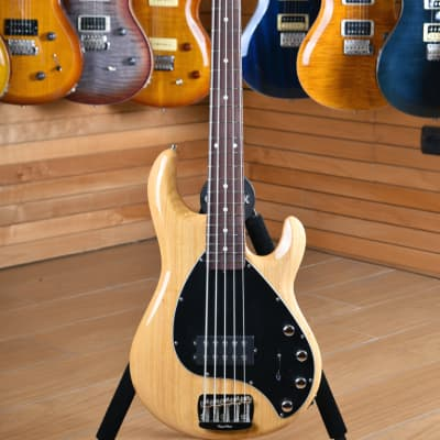 Music Man Sting Ray Special 5 H Classic Natural Roasted Maple Rosewood Fingerboard for sale