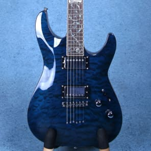 Schecter C-1 Custom Trans Midnight Blue