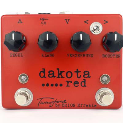 Orion Effekte Twangtone Dakota Red  II * overdrive and booster * Tweedsound