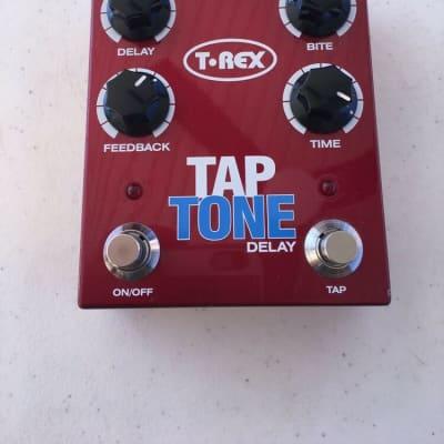 T-Rex Engineering Tap Tone Delay Digital Echo Tempo Rare Guitar Effect Pedal