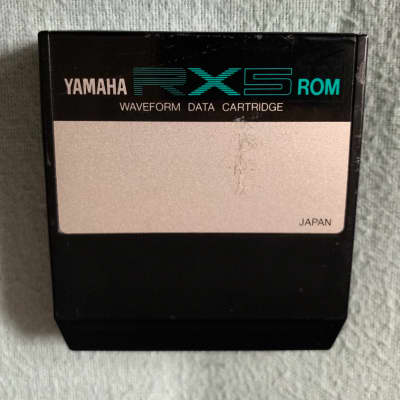 Yamaha RX5 Factory Rom Data Cartridge 90's Drums Percussion and Effects