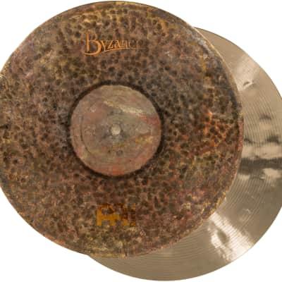 Meinl Cymbals B15EDMTH Byzance Extra Dry 15-Inch Medium Thin Hi Hat Cymbal Pair (VIDEO)