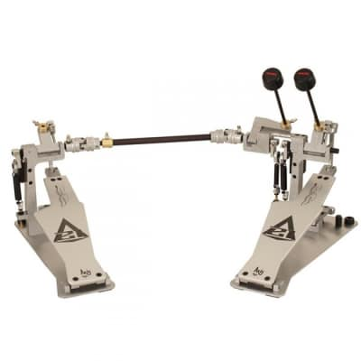 AXIS Derek Roddy Signature Edition A21-2 Double Bass Drum Pedal with Electronic KIt, Silver