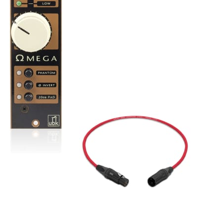 Kush Audio Omega | 500-Series Mic Preamp | Pro Audio LA