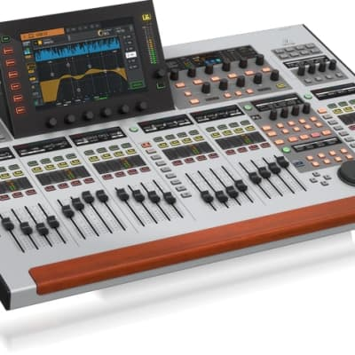 """Behringer Wing 48-Channel 28-Bus Full Stereo Digital Mixing Console, 24-Fader, 10"""" Touch Screen"""
